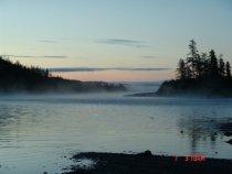 Утро на алмазной реке.