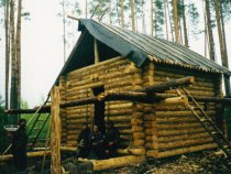 Север Томской области.Строим.