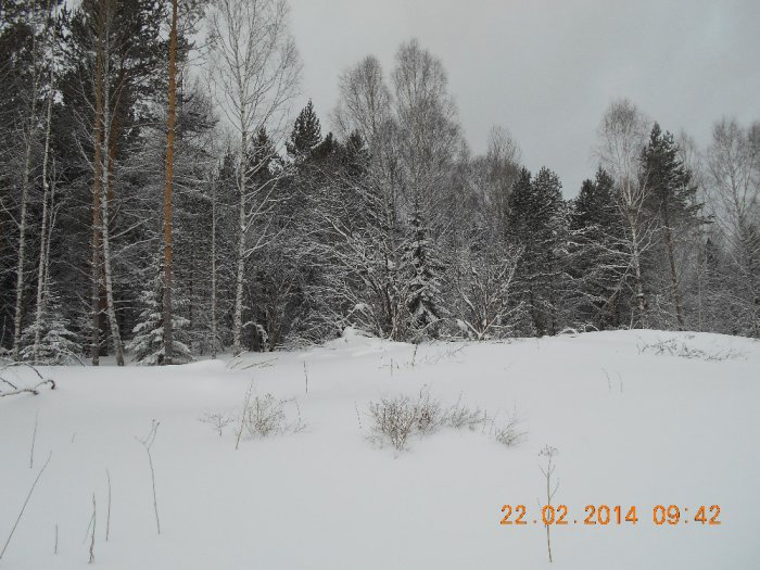 г.Касказым,Зимний пейзаж