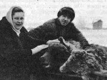 Василий Дмитрич Салынский с женой