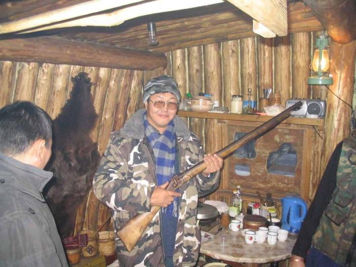 Дедушкино ружье. Рабочее
