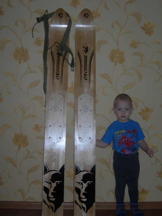 Обновил себе лыжи