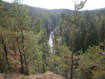 сибирская красота.река Тушама