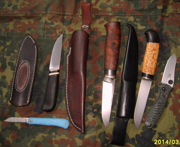 Мои ножи.