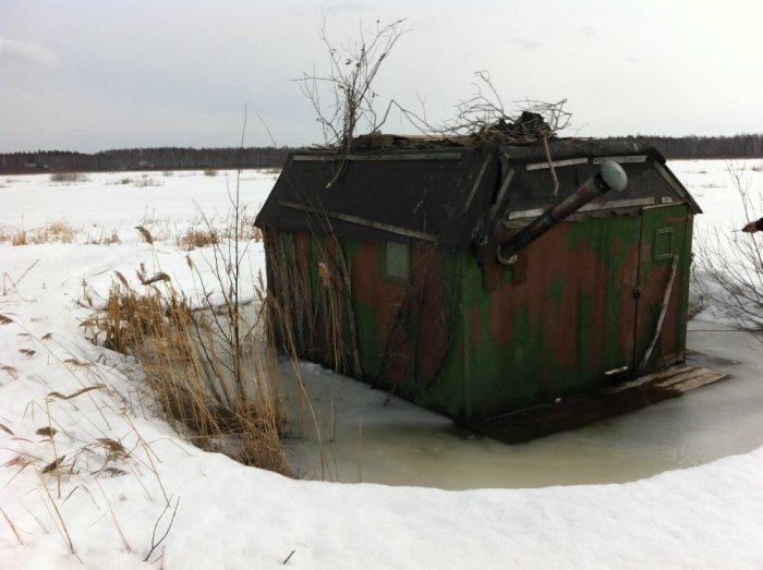 Первый выход на болото