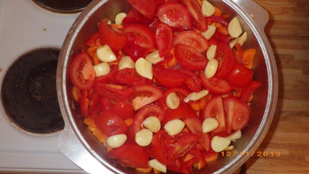 Пошаговый рецепт с фото овощное рагу