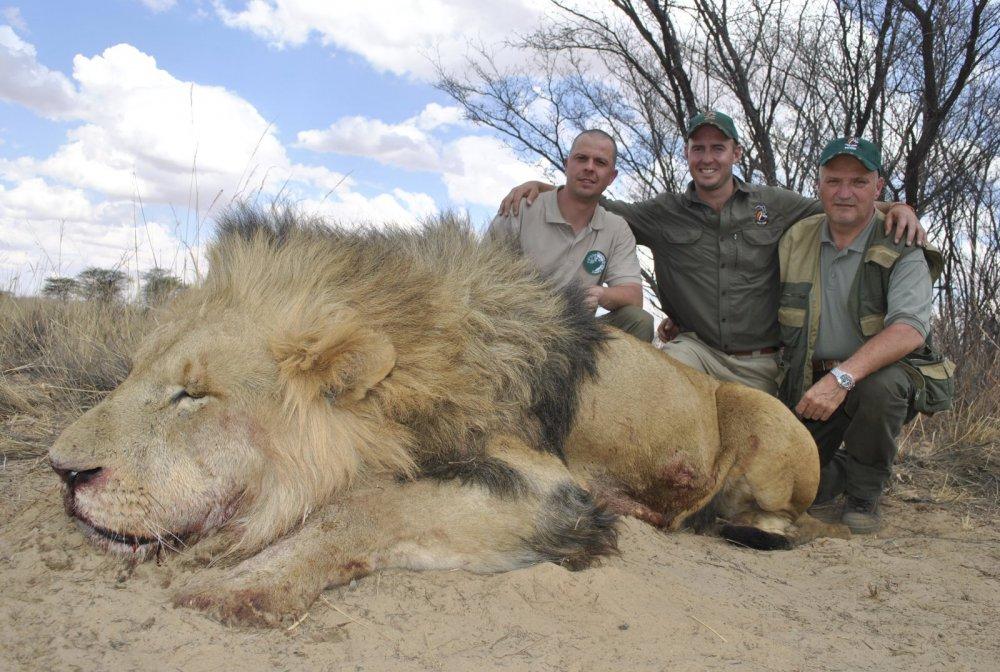 Охота в ЮАР.