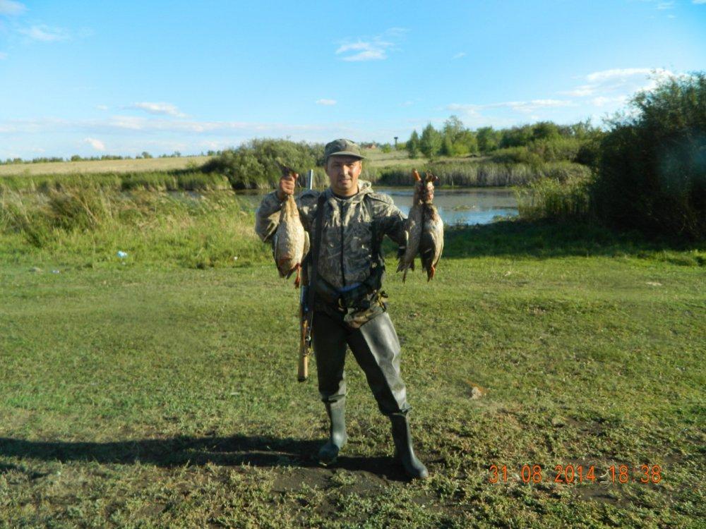 Ходовая охота по речке.
