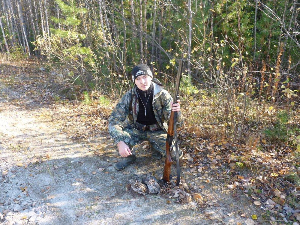 Первый раз на охоте...
