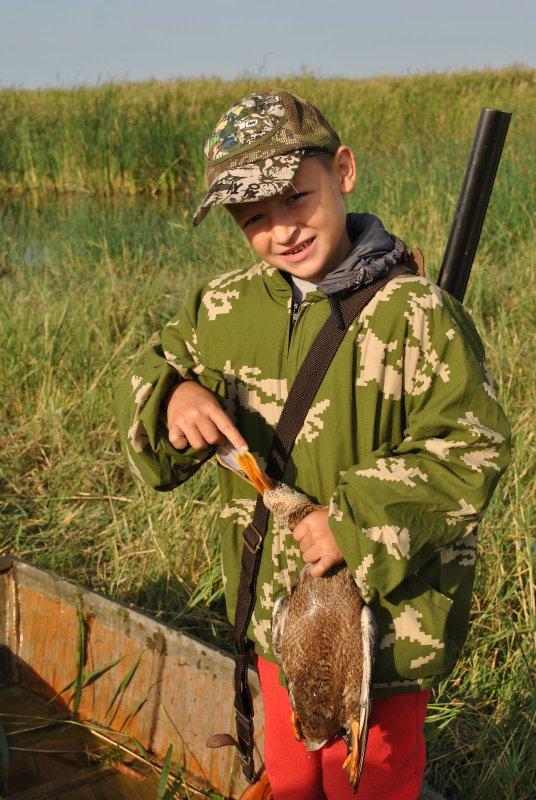 возраст на охоте не имеет значенья