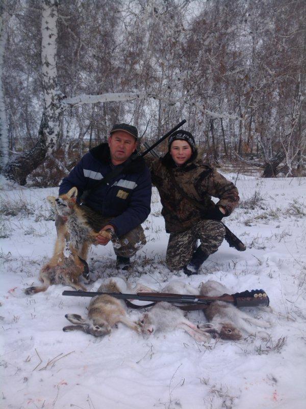 Хорошая была охота!
