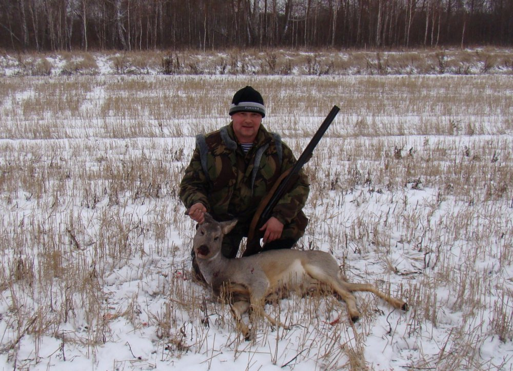 Охота на косуль 14-15.11. 2014