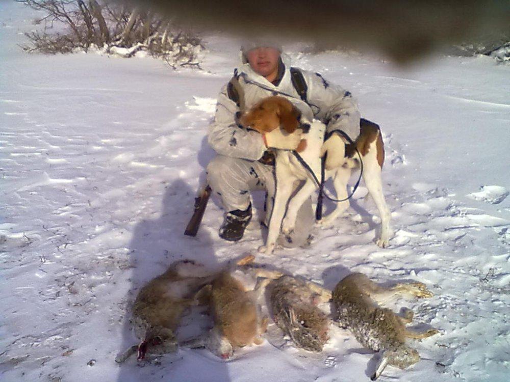 вот результат 1 дня охоты !2014год