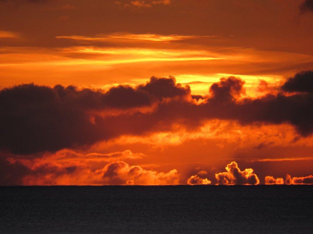 восход над Тихим