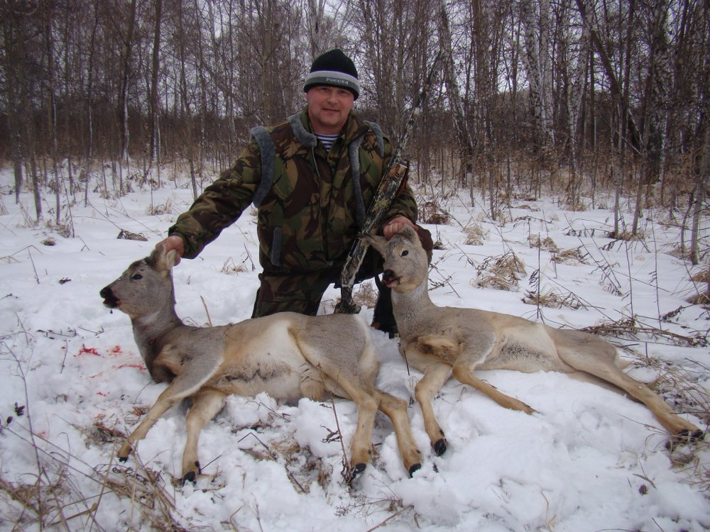 Охота на косуль 14-15.11.2014