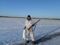 Настоящие охотники мороза не бояться!Фото №2