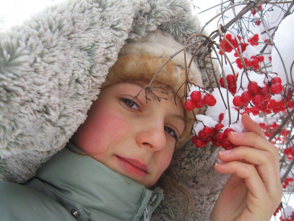 Калина зимния.
