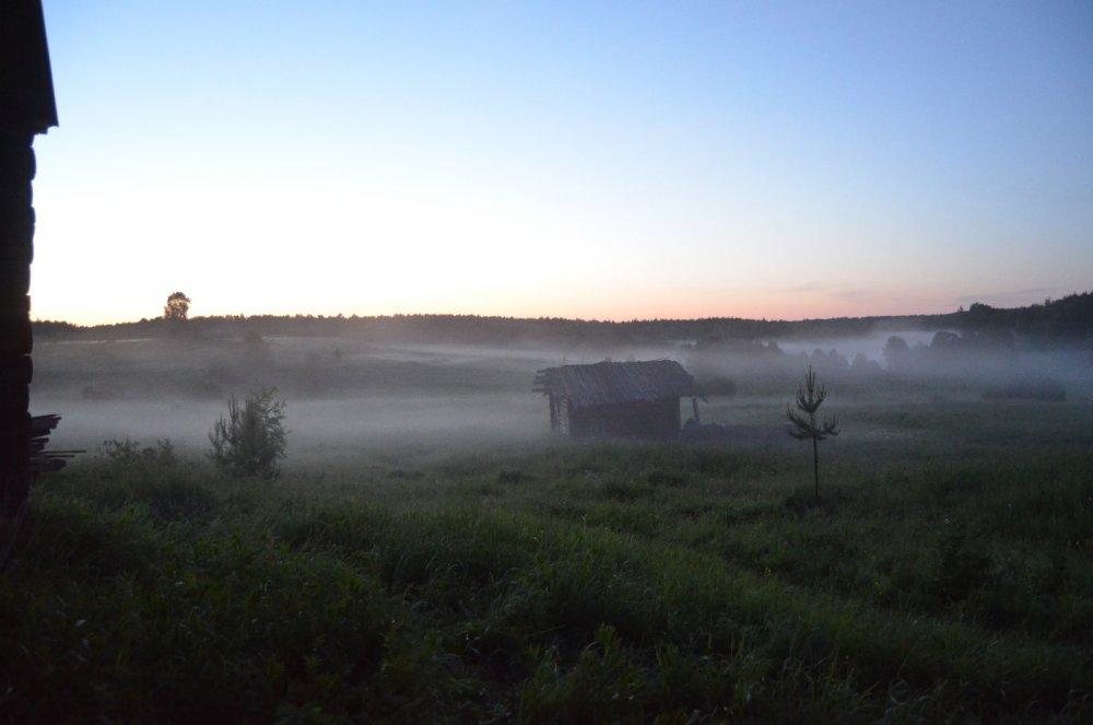 деревня Ула вид из дома моего
