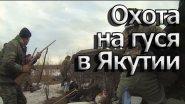 Охота на гуся.Якутия.2014/Goose Hunting.Yakutia (Siberia).