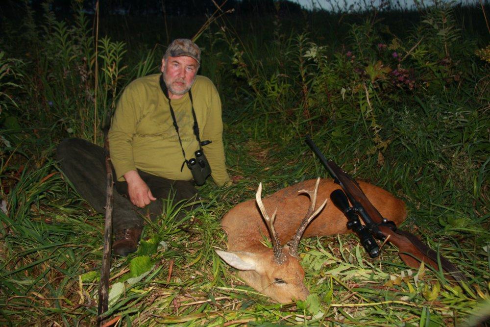 вечерняя охота удалась