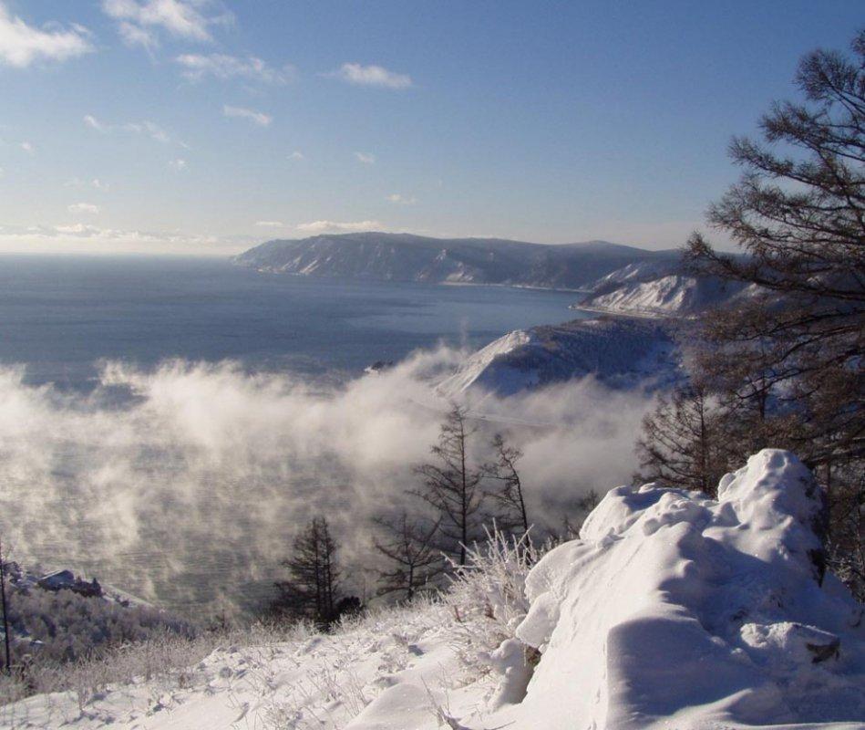 Батюшка Байкал3. зимняя сказка...