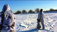 Охота на зайца. Ниж. область.Зима-2015.