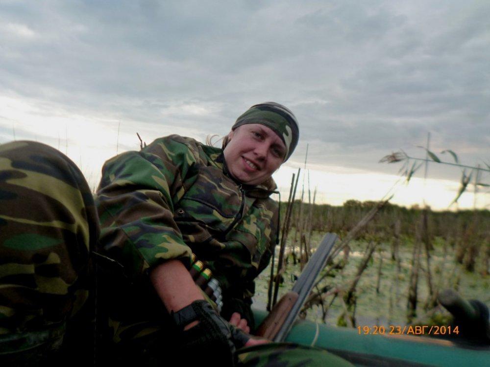 На болотине...