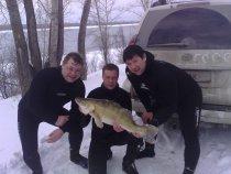 Загнали )))) Подводные охотники Новосибирска