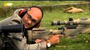 Высокоточная дальнобойная снайперская винтовка.