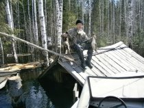 вот так и охотил с крыши))))
