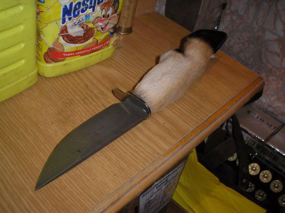Как сделать рукоятку для ножа из копыта косули своими руками 74