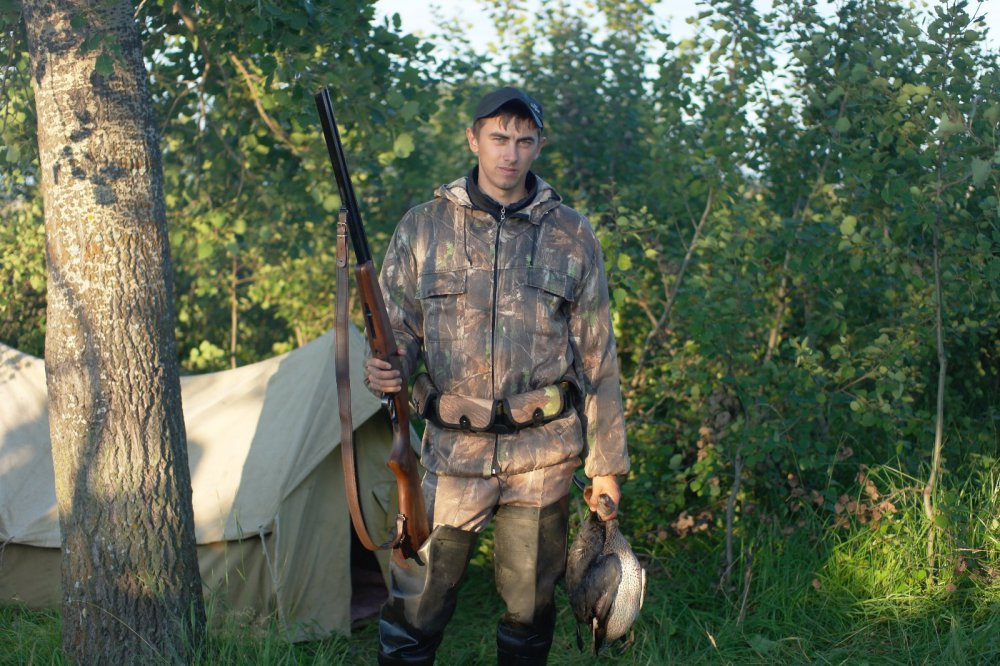 Открытие осень 2013 г. Моя первая охота