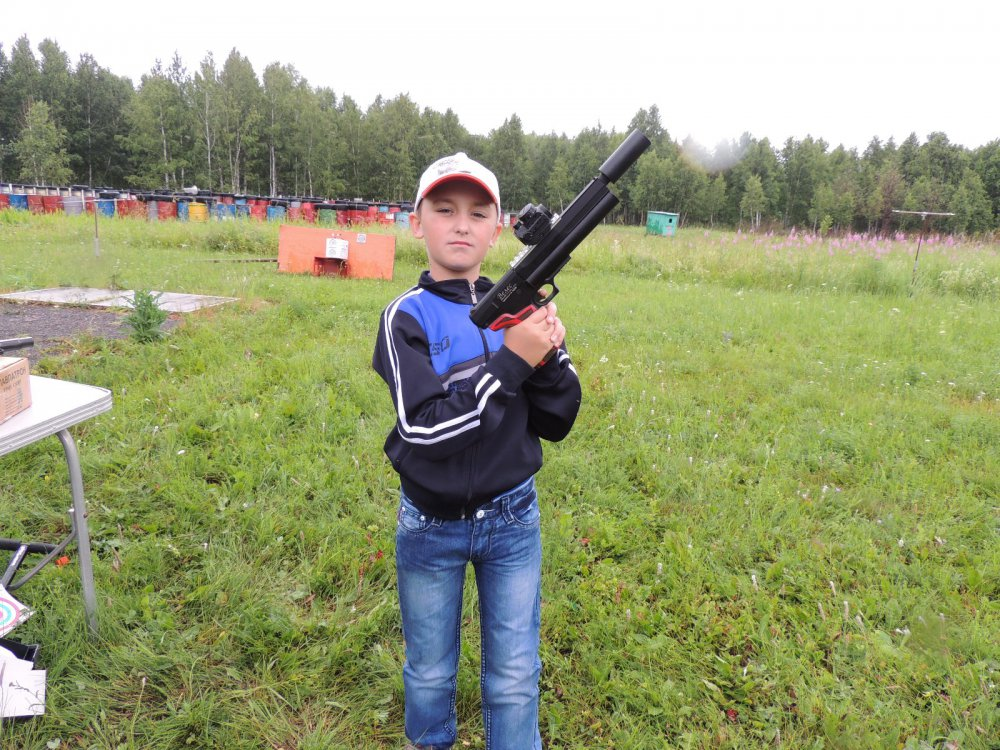 На празднике Мой стрелок!