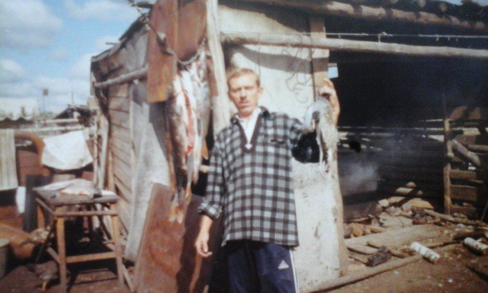 отец с добычей 2003год