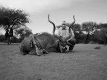 Намибия 2012. Антилопа Куду