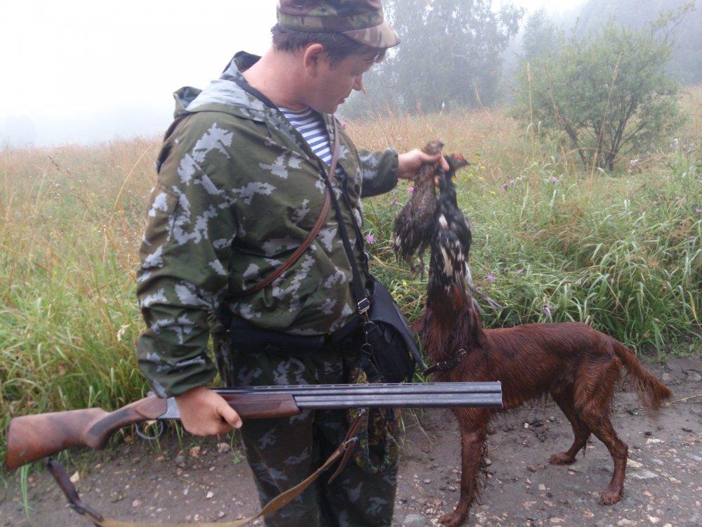 Августовские охоты.
