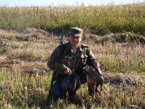 Краснозёрский район НСО , открытие охоты.