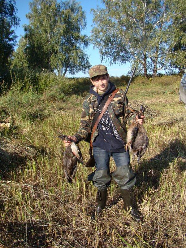 Охота на уток 2015