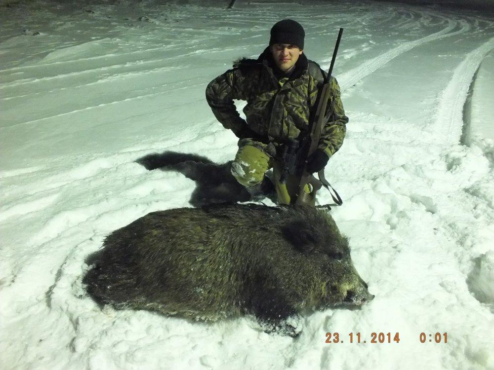 Охотхозяйство Приобье 2014 год