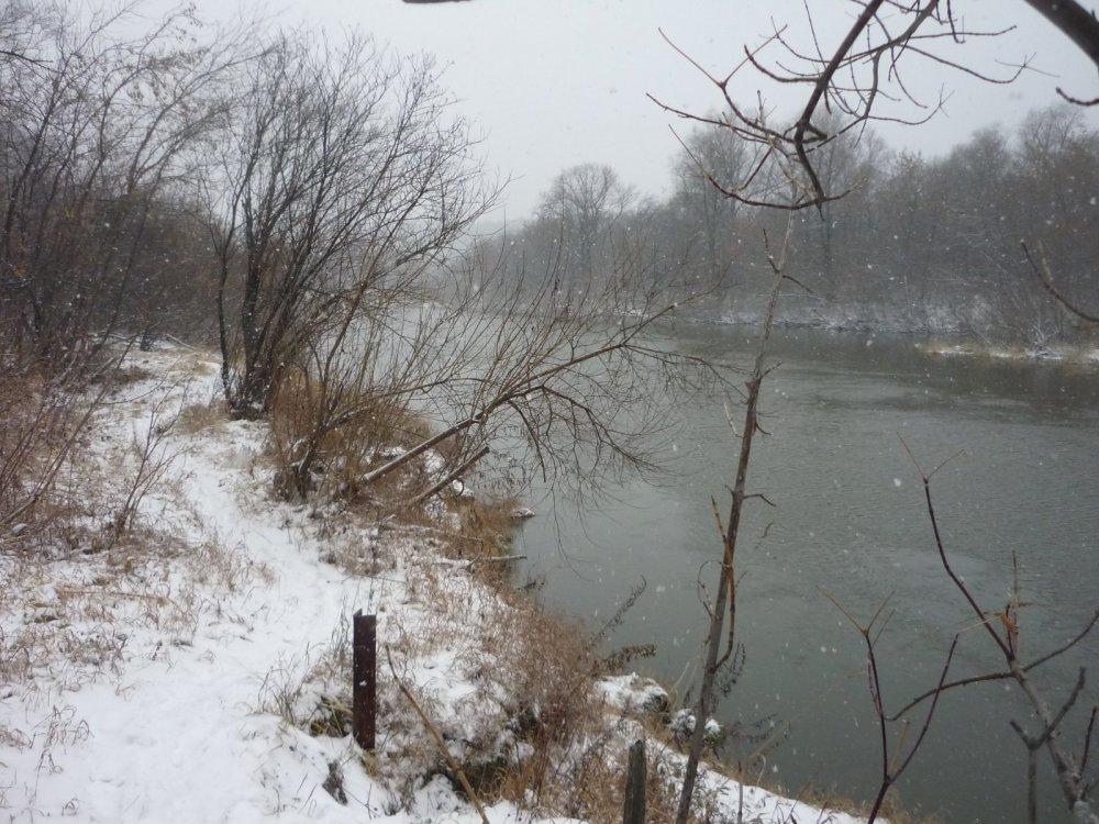 Метель, на красавице реке Иня....