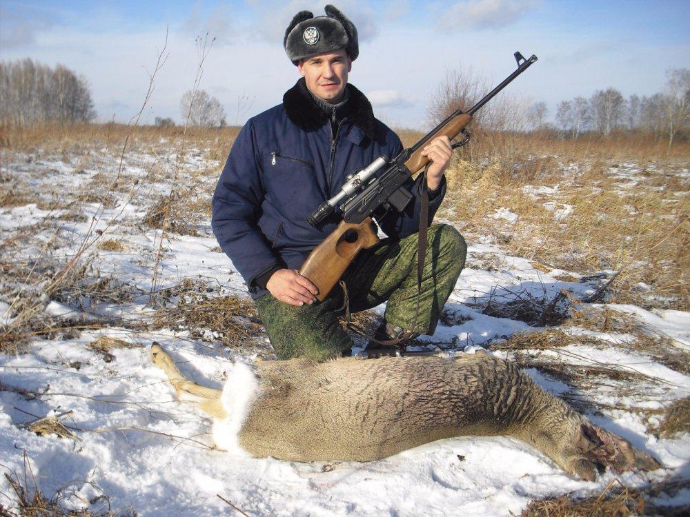 охота и рыбалка нарезное оружие