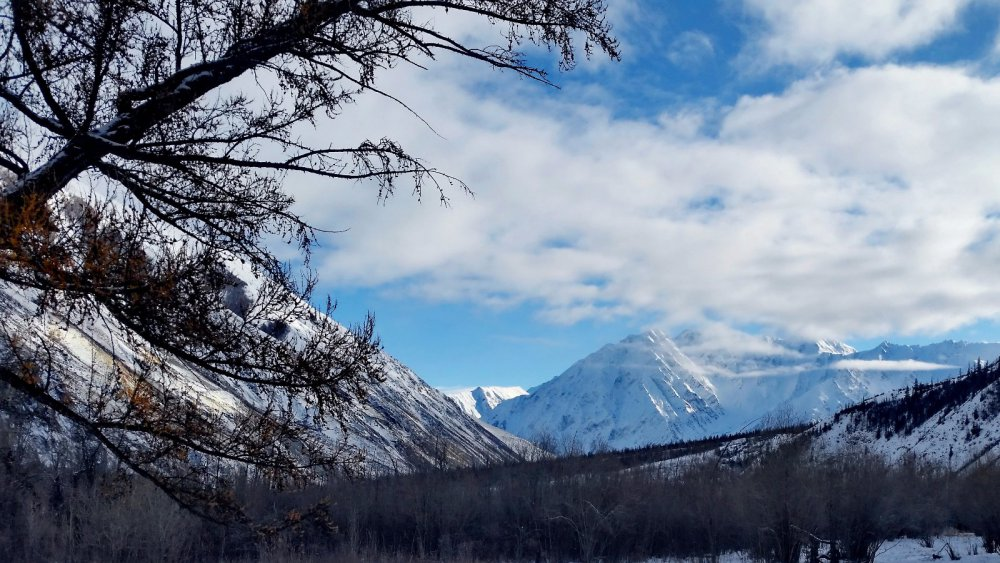 Прекрасны горы в ясную погоду