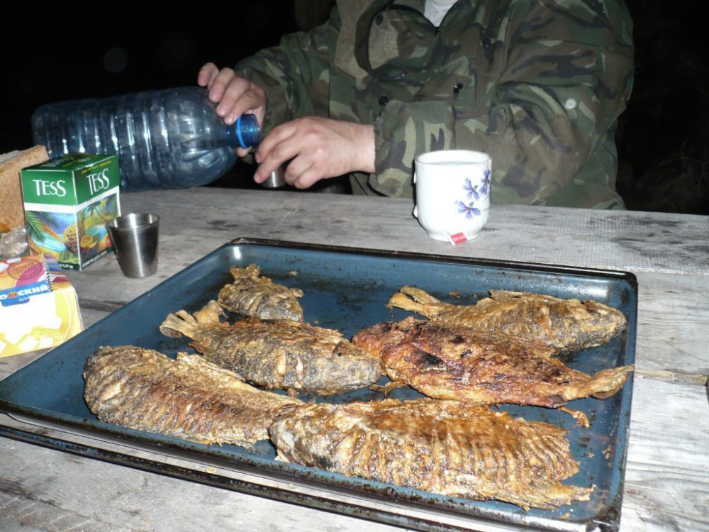 ужин на природе