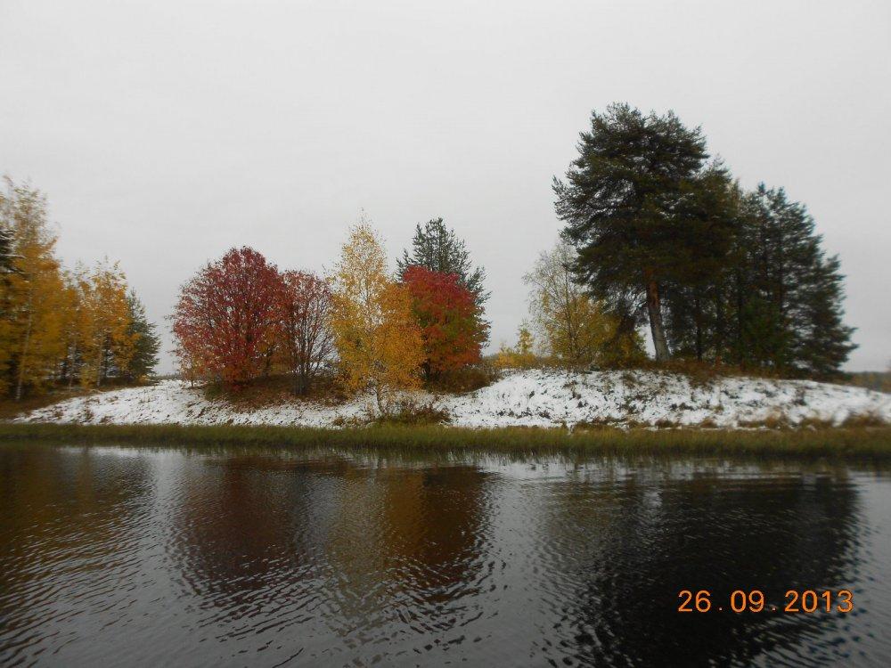 Снег в сентябре.