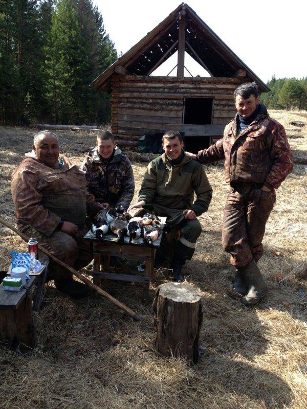 Открытие весенней охоты)))