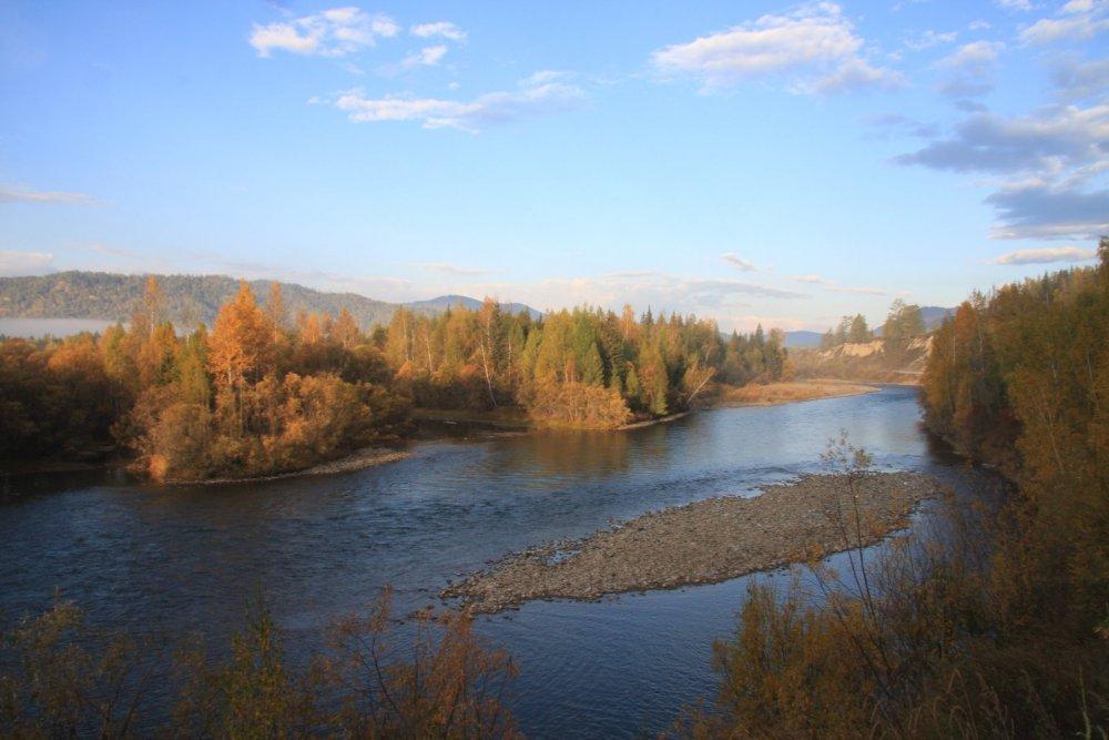 река Кокса Алтай