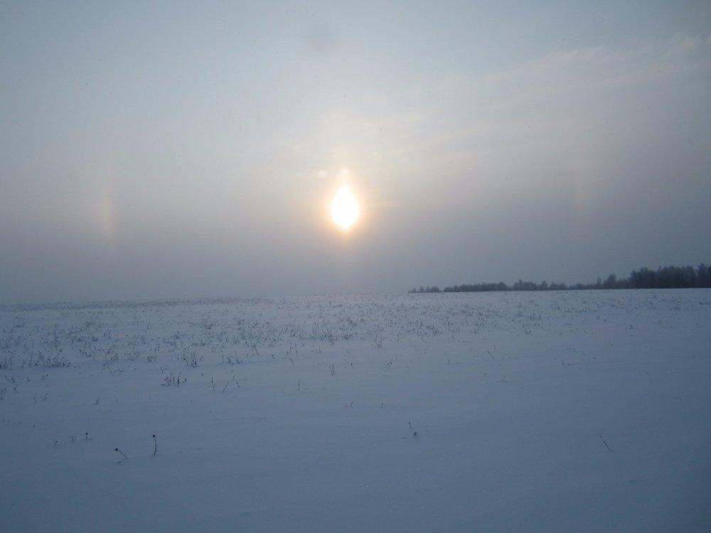 Восход солнца на Брянщине