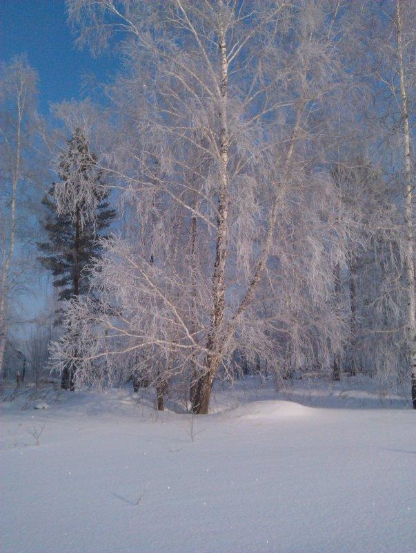 Ранним морозным утречком