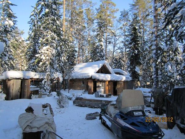 вот тут и охотимся, север Томской области