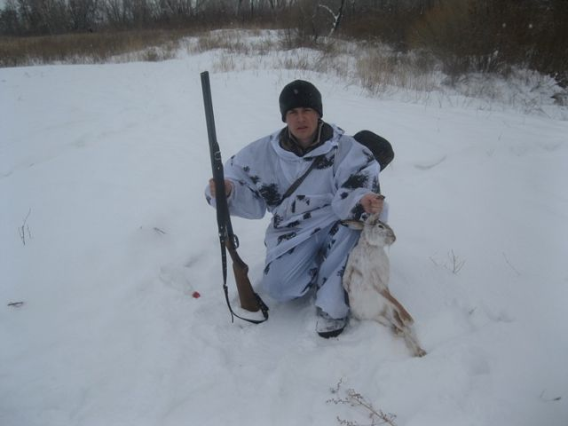 Как то на охоте